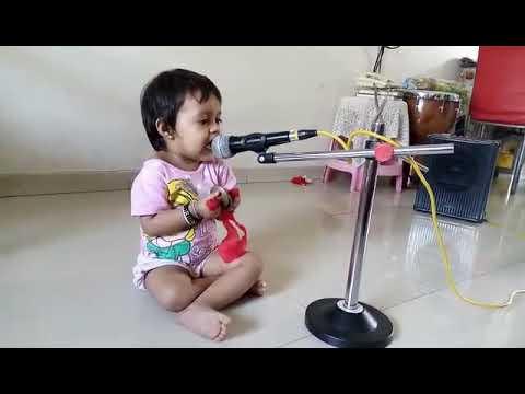 JAI JAI RADHA RAMAN HARI BOL SINGING BY CHILD