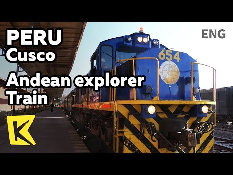 【K】Peru Travel-Cusco[페루 여행-쿠스코]안데스 탐험가 열차로 푸노까지/Wanchaq station/Andean explorer/Train/Puno
