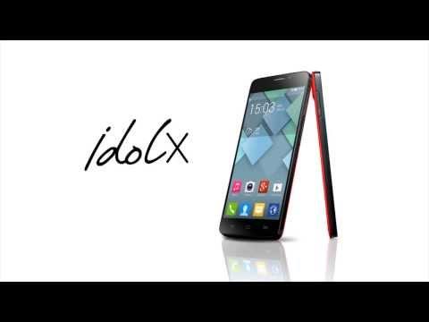ALCATEL ONE TOUCH IDOL X Bemutató Videó