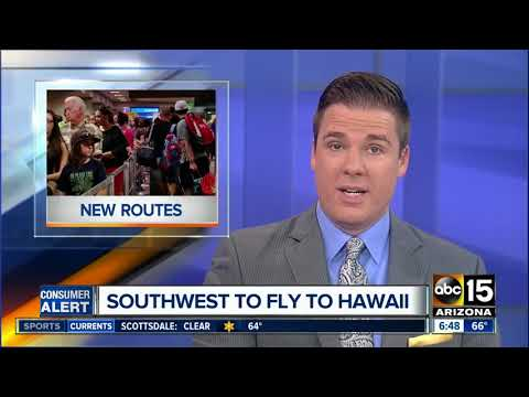 Southwest announces plans to fly to Hawaii