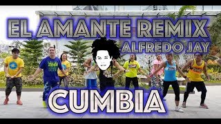 El Amante Remix | Nicky Jam | Zumba® | Alfredo Jay