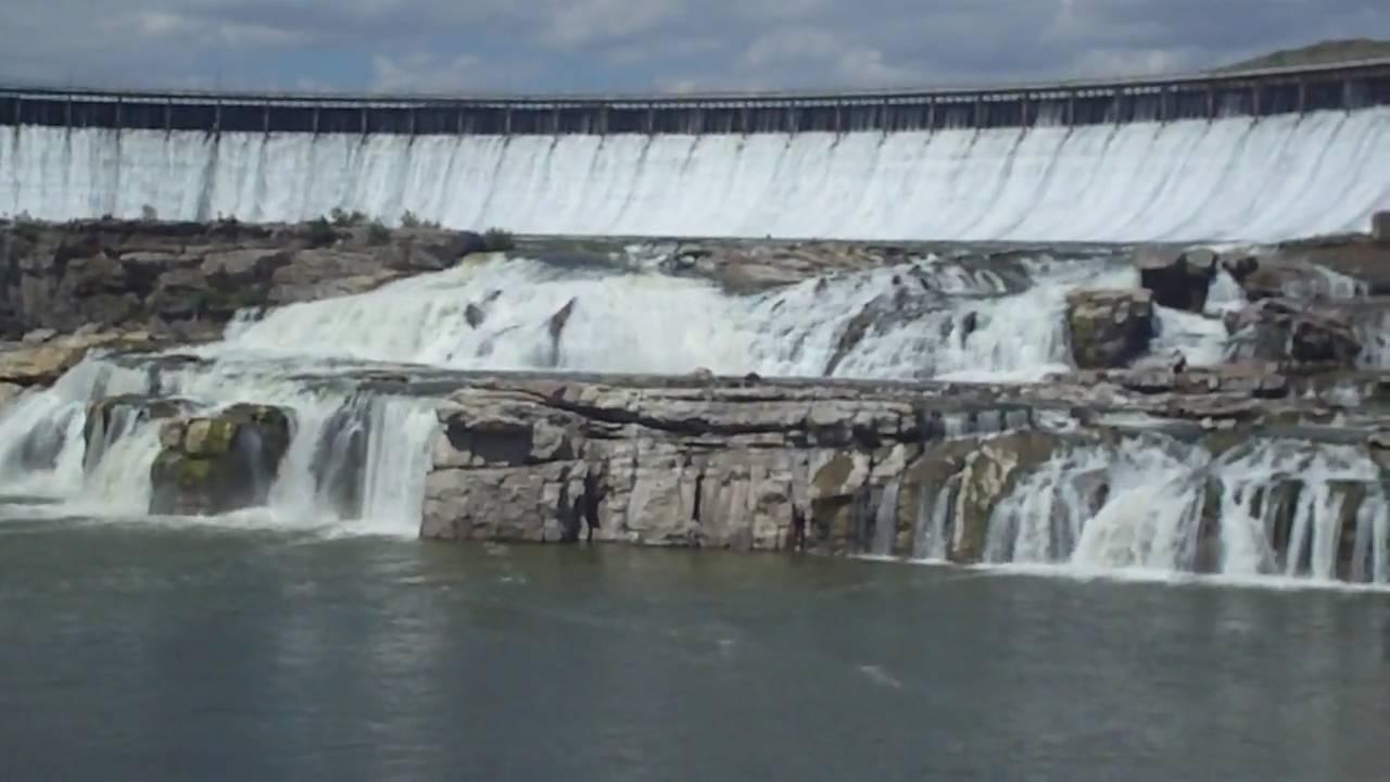 Great Falls Of The Missouri Youtube