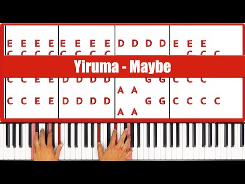 Maybe Yiruma Piano Tutorial - ORIGINAL