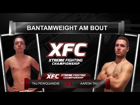 XFC 29  Taj Fewquandie vs Aaron Tau