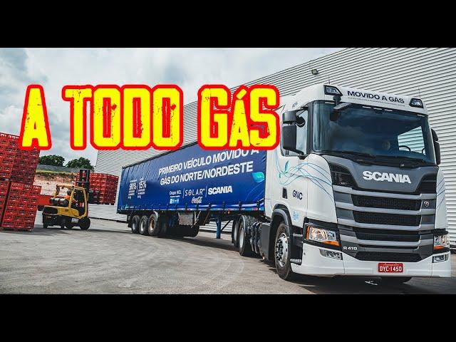 Scania vai atacar mercado de caminhões e ônibus a gás - MTED