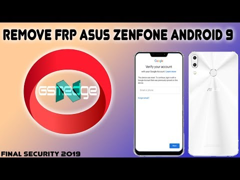 HOT FRP ON ALL ASUS ANDROID 9 0 SKIP GOOGLE ACCOUNT FINAL SECURITY