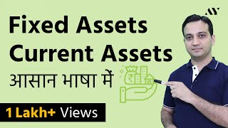Fixed Assets and Current Assets - Explained in Hindi