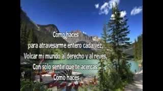 Como Haces - Santiago Cruz (KARAOKE)