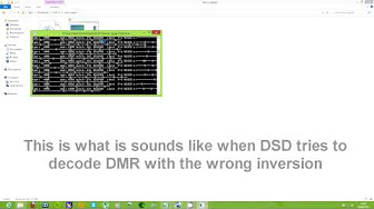 RTL-SDR: Decoding P25 Phase I QPSK with DSD and SDR# | aka VIDEOS
