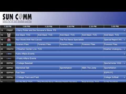 ONTV Classic Electronic Program Guide (EPG)