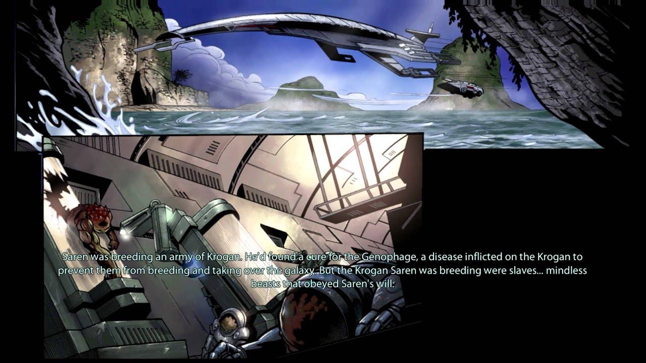 Mass Effect 3 Genesis 2 DLC: Interactive Backstory Comic ...