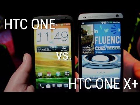 HTC One vs HTC One X+(plus)