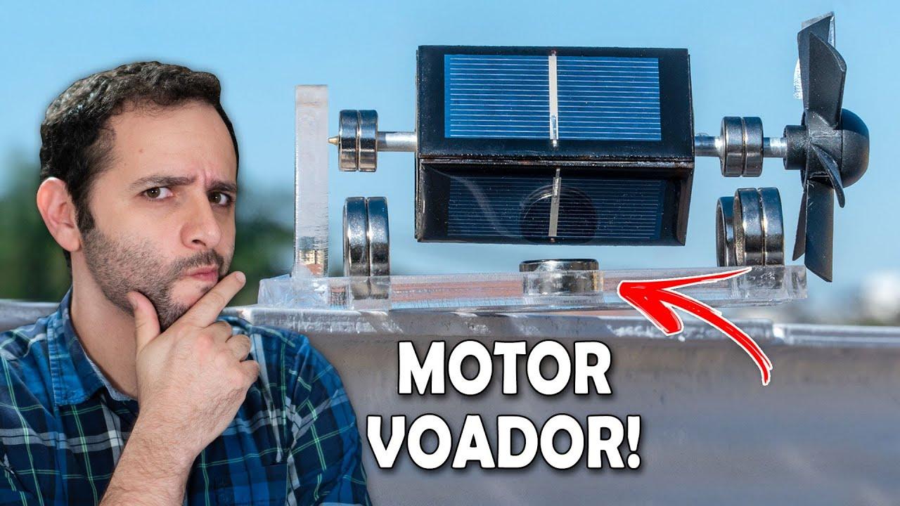 Motor solar flutuante? Nós Testamos!