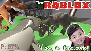 Escape the Dinosaurs in Roblox Dinosaur Fight ? Dinosaur Roblox Games