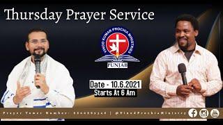 Thursday Morning Prayer Service  | Prayer For India |  Date 10/06/2021 Day 29 |