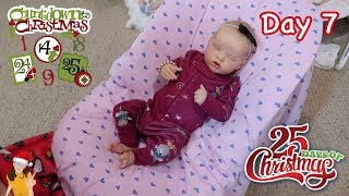 Reborn Countdown to Christmas! Changing Baby Sailor - Day 7 | Kelli Maple