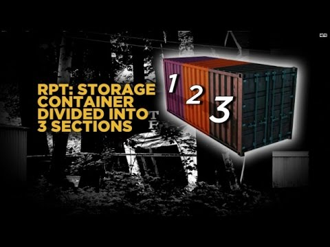 Cops dismantle container at kidnap suspect's home