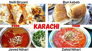 Karachi | Qauid e Azam Mausoleum | Zahid Nihari | Javed Nihari | Qadri Nalli Biryani | Panwari | Bun