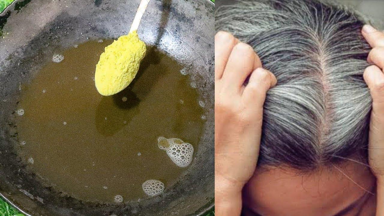 मेहंदी में अगर यह दो चीजें मिलाकर लगाओगे तो सफेद बाल हमेशा के लिए जड़ से काले हो जाएंगे Hair Dye