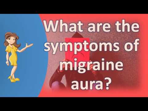 What are the symptoms of migraine aura ? | Better Health Channel