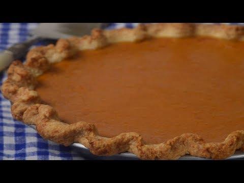 Sweet Potato Pie Recipe Demonstration Joyofbaking.com