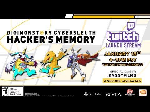 Digimon Story Cyber Sleuth - Hacker's Memory Livestream   PS4, PSVita