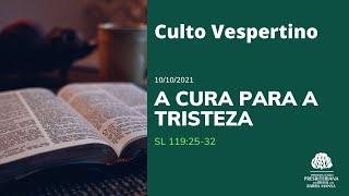 CULTO VESPERTINO - 10/10/2021