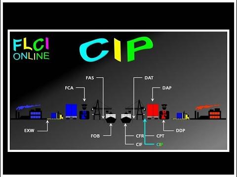 CIP Carriage Insurance Paid to | Transport Payé Assurance Comprise | QCM Incoterms | Quizz Export