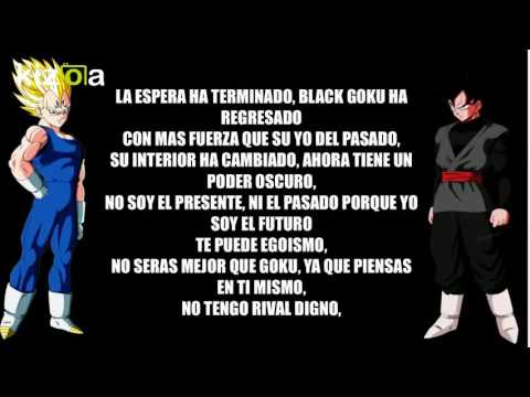 "Black Goku VS Majin Vegeta - Kronno Zomber & Cyclo ""Letra """