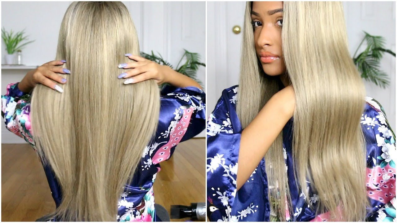 b2e36f73c1 HOW TO BRING YO STIFF WEAVE BACK TO LIFE! - YouTube