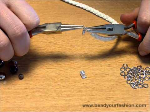 Jewelry making – DIY Project 1: How to decorate a braided bracelet with pendants