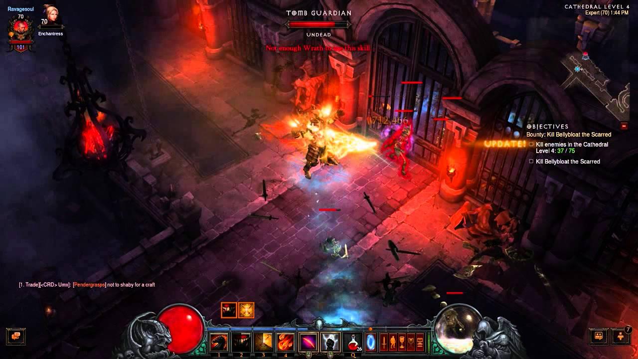 Diablo  Crusader Build Level