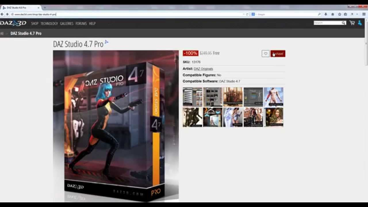 daz studio 4.6 pro download