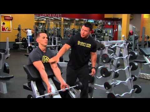 Ultimate Arms Workout by Gold's Gym: Preacher Curl