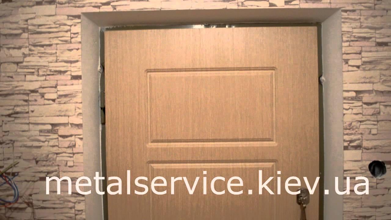 МДФ накладки на металлические двери (СЕКРЕТ). - YouTube