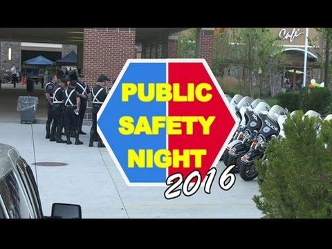 Burlington Police & Fire Community Safety Night 2016