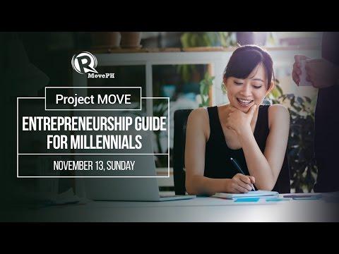 Project MOVE: Entrepreneurship guide for millennials
