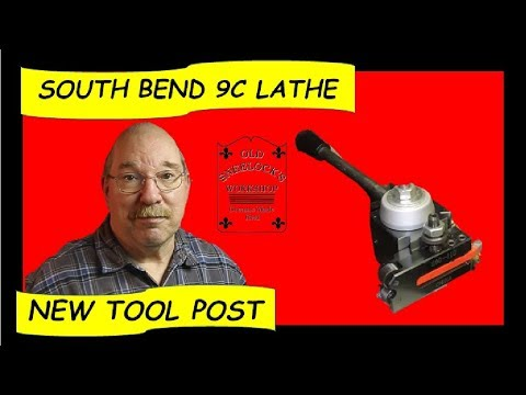 AXA Tool Post Install - South Bend 9 Inch Workshop Lathe - by Old Sneelock's Workshop