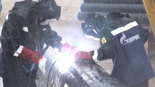 Под Шексной сварили первый стык магистрали, которая обеспечит газом 60 тысяч жителей области