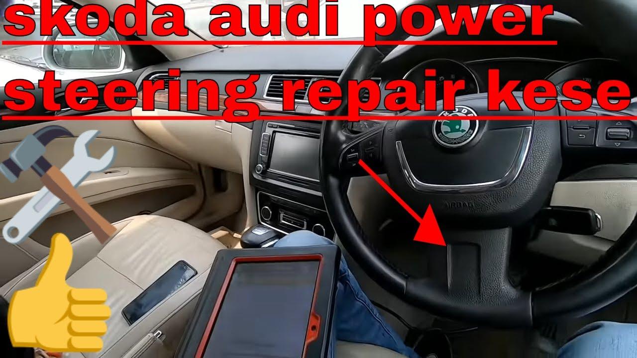 How skoda superb Volkswagen Jetta Passat skoda Laura Audi a3 electronic  power steering repair