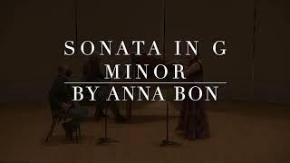 Sonata in g minor by Anna Bon