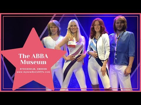 ABBA Museum in Stockholm Sweden