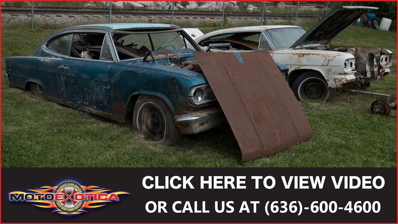 1966 AMC Marlin Parts Cars || For Sale - YouTube