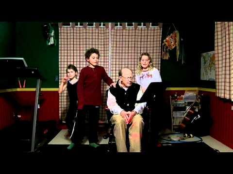 McNamara's Band Grandpa Ed with grandchilldren