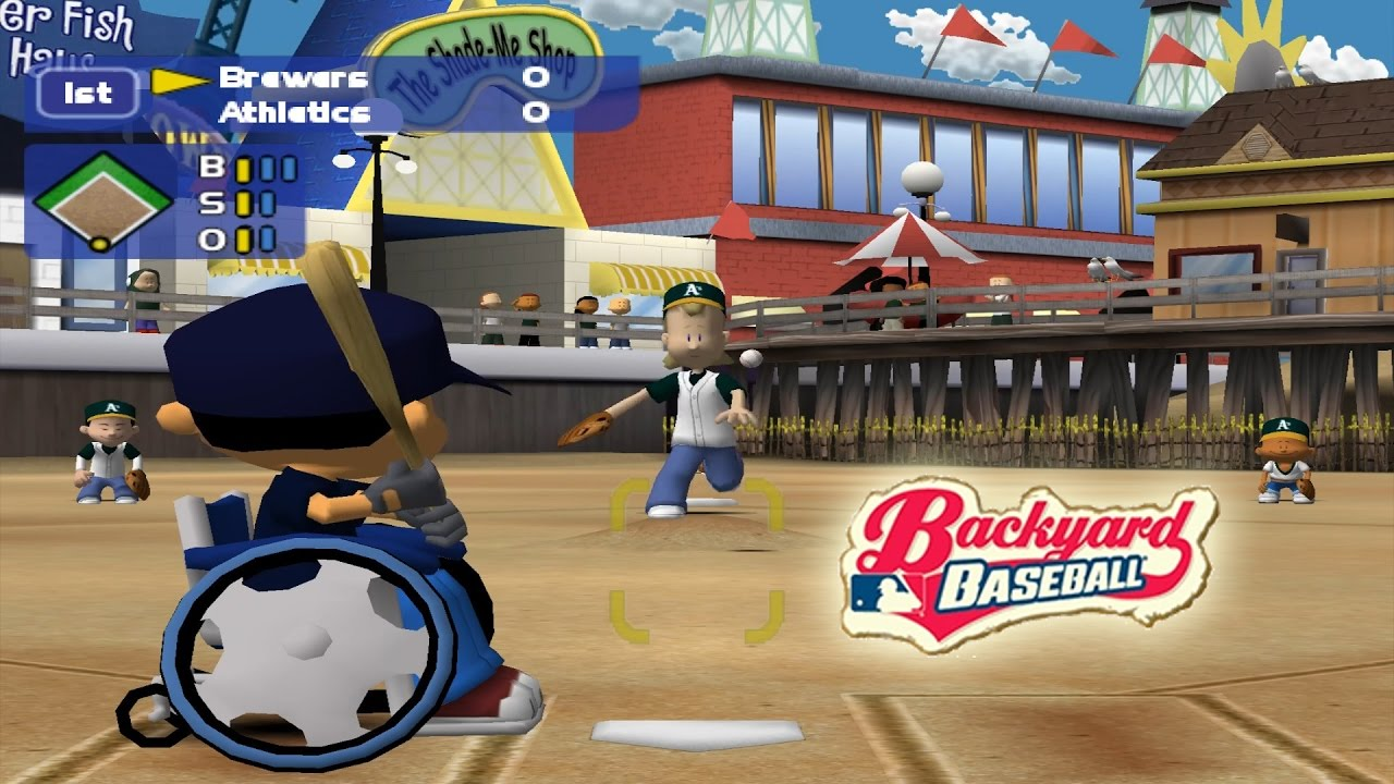Dolphin Emulator 5.0-1691 | Backyard Baseball [1080p HD ...