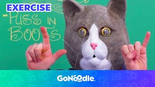 I To The L - Brainercise with Mr. Catman   GoNoodle