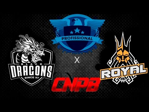Black Dragons Vs Royal Gaming Club - Liga ELITE - CNPB 2017