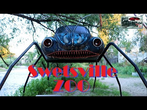 NO LIVE ANIMALS!... Whimsical Swetsville Zoo