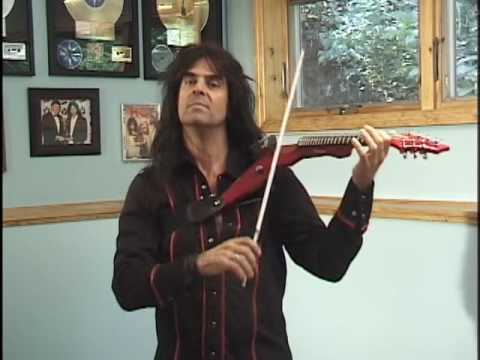 Mark Wood With Some Tips On The Viper Electric Violin