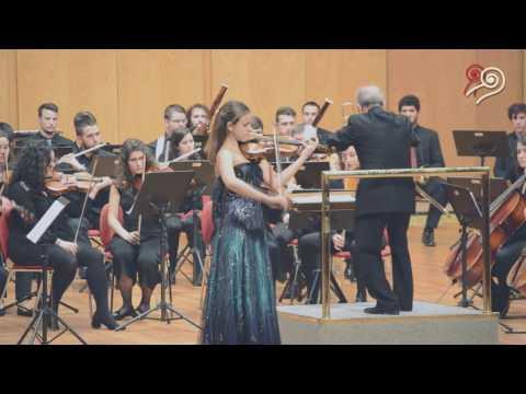Inés Issel Burzyñska - Concierto para violín Op. 47 de Jean Sibelius (II y III movimiento)